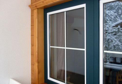 Холодное окно из алюминиевого профиля