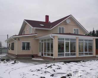 Пластиковые окна для частных и загородных домов