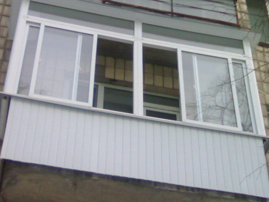Балконные пластиковые окна