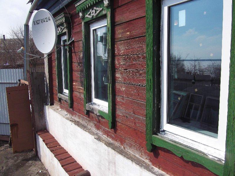 Частный дом остекленный стеклопакетами